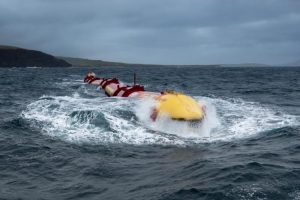 Photo: Pelamis Wave Power / Rhonda J. Miller